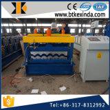 Kxdの高品質は鋼鉄830機械を形作る艶をかけられたタイルロールに電流を通した