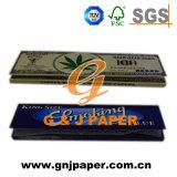 Bure lento bueno fumando el papel con calidad superior