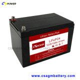 Batterij van de Cyclus van het Pak 12V-100ah van de Batterij van Cspower de lithium-Ionen Diepe