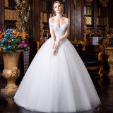 Multi-Type neuf sexy Wedding la robe nuptiale de robe de bille avec la bande détachable
