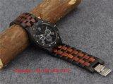 Het nieuwe Houten Horloge Fs477 van het Kwarts van de Stijl Modieuze