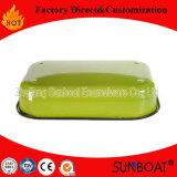 Placa rectangular del servicio de mesa del esmalte del plato de la empanada de la aplicación de cocina de los utensilios de cocina de Sunboat (fijar)