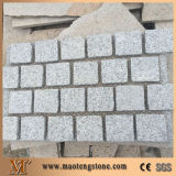 Pietra per lastricati del granito grigio poco costoso G603