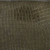 تمساح مضيئة [بو] جلد اصطناعيّة لأنّ حقيبة يد