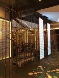Écran décoratif en métal pour le panneau de partition de chambre de hôtel