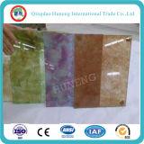 Color / vidrio laminado de seda teñida para el vidrio decorativo