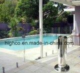 Edelstahl-Zapfen mit quadratischem Flansch-Deckel für das Pool-Fechten