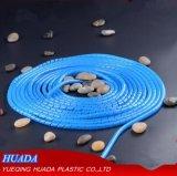 Gewundene einwickelnbänder, 6 Fuss-Kabel-Verpackung/Spirale-Verpackung, schwarz