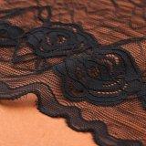 Цвет Китая оптовый самый новый серый отбортовывает шнурок ткани сетки