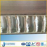 Feuille en aluminium de panneau de nid d'abeilles HPL de formica en stratifié du formica