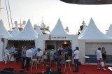 Grosser im Freien arabischer Partei-Zelt-Boots-Deckel