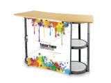 Table promotionnelle Spiral Twist Tower