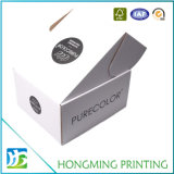 Коробка ботинка картона печати логоса складная белая