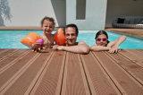 revestimento oco de 150*25mm WPC com Ce para a piscina