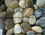 Piedra mezclada Polished del guijarro del color de la fábrica para ajardinar la decoración