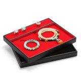 PU 보석 또는 반대 보석 반지 깔판 또는 보석 전시 쟁반 또는 보석 전시 상자