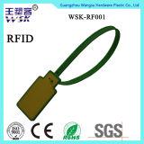 Guarnizione di plastica di formato del commercio all'ingrosso della striscia sicura differente di sigillamento con RFID