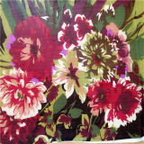 Fiore variopinto Ggt di seta stampato disegno