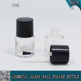 Mini kundenspezifische Nagellack-Flasche 10ml leeren Gel-Nagellack-Glasflasche
