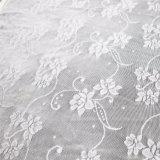 Floral Black Textile Stretch Jacquard Lace