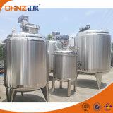 Het Verwarmen van Lectric/van de Stoom Chemische Vloeibare het Mengen zich van het Roestvrij staal Tank met Mengapparaat