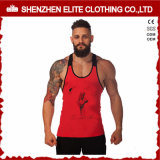 Homens Custom Gym Bodybuilding Singlet Stringer (ELTMBJ-601)