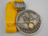 Toute médaille de forme, médaille d'organisation creuse faite sur commande (GZHY-MEDAL-006)