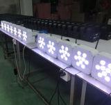 건전지 무선 9X15W Rgbaw LED 편평한 동위 빛