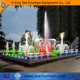 Tipo al aire libre fuente de la combinación de la piscina del diseño de Seafountain de la música de los multimedia