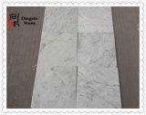 Mattonelle di marmo di marmo bianche naturali dell'Italia Bianco Carrara