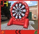 Het aangepaste Rode Opblaasbare Dartboard van de Voet voor Verkoop