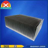 Dissipatore di calore di alluminio personalizzato per elettronica con lavorare di CNC