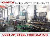 L'acier en acier fait sur commande de soudure de fabrication partie le constructeur en acier