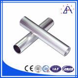 Brillant anodisant le tube en aluminium de l'extrusion 6063 T5