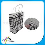 Мешок роскошной бумаги лоска изготовленный на заказ упаковывая с ручкой