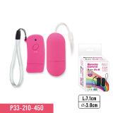 Vibrateurs à télécommande imperméables à l'eau avec l'enduit d'unité centrale et le rouleau-masseur de contact doux