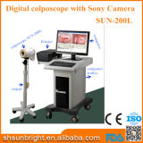 Precio video del Colposcope de Digitaces Digitaces Sony de la cámara portable médica de Sun-200L