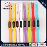 Vigilanza del braccialetto del silicone dell'orologio di sport delle vigilanze del pedometro (DC-003)