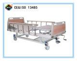 (A-54) het Beweegbare Bed van het Ziekenhuis van de dubbel-Functie Hand met ABS het Hoofd van het Bed