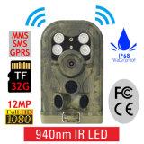 Câmera de caça GPRS Trail Camera 12MP 1080P IR Trail Security Stealth Cam