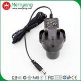 adaptador da fonte de alimentação AC/DC do carregador do adaptador da potência de C.A. de 6V 2A com plugue BRITÂNICO