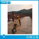 Los adolescentes vespa de la bici - El ejercicio mientras se divierten