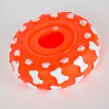 Forma del neumático de perro de juguete de vinilo juguete chillón de mascotas