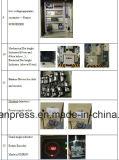 A máquina 110ton do perfurador com Ompi italiano seca a embreagem, protetor hidráulico da sobrecarga de Japão Showa, válvula de solenóide do dobro do Taco de Japão