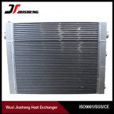 Intercambiador de calor de barra de aluminio soldado y compresor de placa