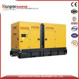 тепловозный комплект генератора 200kw с звукоизоляционной коробкой от Китая