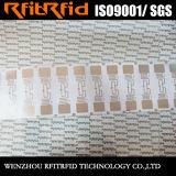 UHF/860-960MHzの外国人H3プログラム可能なRFIDのラベルの札