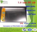 7 pouces IPS 1200X1920 Mipi 31pin 450CD / M2 Tablet PC Écran LCD