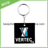 Custom Keychain bonito do silicone Keychain da forma Keychain macio do PVC 3D