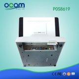 Caja registradora electrónica de la máquina de la posición del supermercado de 15 pulgadas